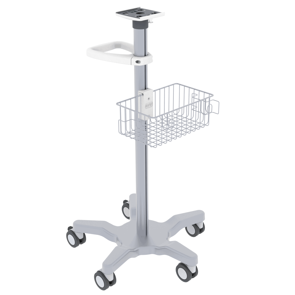 Medical Monitor Trolley, Monitor Cart, Roll Stand